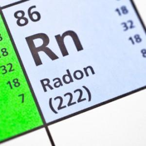 Radon on periodic table